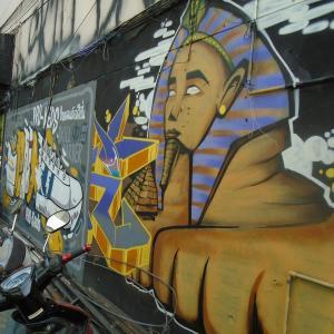 続・チェンマイの『路所にある面白い壁絵』(3)