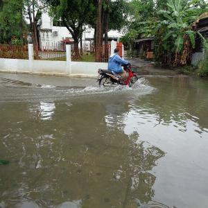 今年も大雨が降ると『チェンマイの低地は浸水』