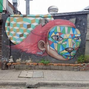 新・チェンマイの路上にある『面白い壁絵』(4)