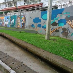 新・チェンマイの路上にある『面白い壁絵』(9)