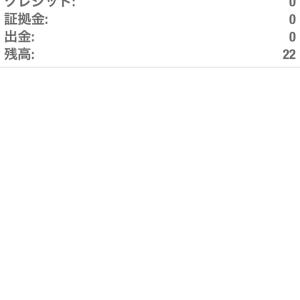 ギャンブルトレード 途中経過 8/13