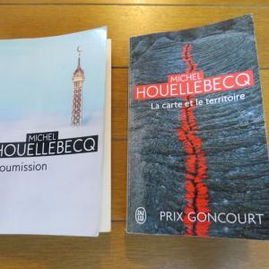 飛んでる?作家、Michel Houellebecq (ミシェル・ウエルベック)フラ語あり・追加しました