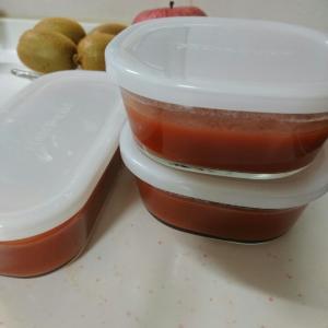 アラフォーダイエット、トマト寒天と、アーモンドと。