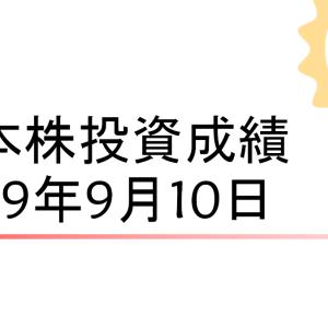 円安の追い風に乗り2日連続でK点越え[日本株成績190910]