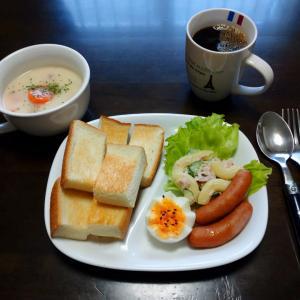 朝食はつけパン