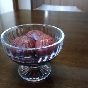 栗の赤ワイン煮