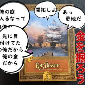 【所持ボドゲ紹介するだけvol.9】『キーフラワー / Keyflower』