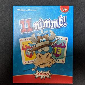 【ゲーム紹介】『11ニムト! / 11 nimmt!』 : 牛がいたら牛を捨てれる牛捨て山