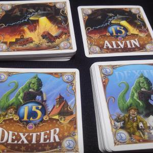 チケット・トゥ・ライド アルヴィン&デクスター / TICKET TO RIDE ALVIN & DEXTER :ちょっと変わったチケライ拡張
