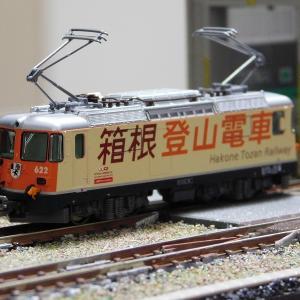 【在籍車両】 レーティッシュ鉄道 ― KATO Ge4/4-Ⅱ(箱根登山鉄道)+EW Ⅰ客車