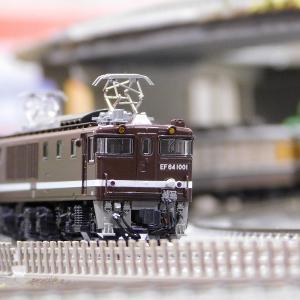 【在籍車両】 JR ― EF64 1000番台 茶 (KATO)