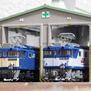 【在籍車両】 JR ― EF64 1000番台 一般色 クーラー搭載車・JR貨物 新更新色 (KATO)