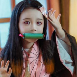 中国の少女レイヤーの「禰豆子コスプレ」が可愛すぎる!【台湾人の反応】