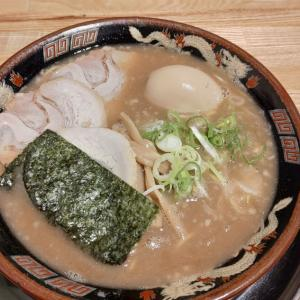 阪堺線大小路駅すぐの風来軒で濃厚な醤油とんこつラーメンを食べてきた