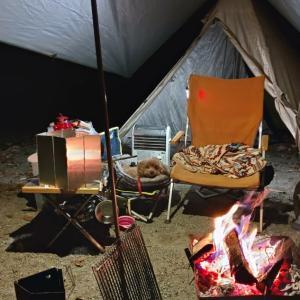 平日の洞川キャンプ場で快適な犬連れソロキャンプを堪能してきた
