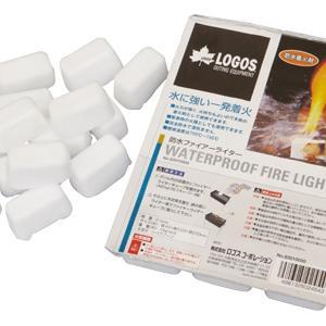雨でも本当に使える着火剤ロゴスの防水ファイヤーライターは火起こし初心者にオススメ