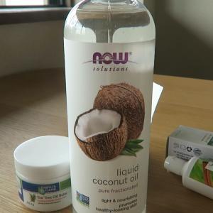 スキンケアに液体ココナツオイルの良さを実感