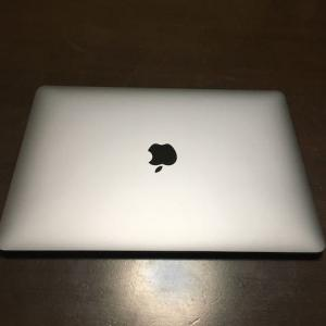 久しぶりにMacBook購入