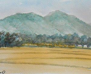 秋分の里山