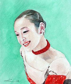 フイギアの妖精 ― キム・ヨナ選手