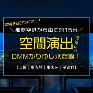 沖縄のもう一つの水族館で光・音・映像の空間演出!/那覇空港から車で約15分『DMMかりゆし水族館』