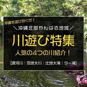 沖縄北部やんばる地域の川遊び特集/源河川・羽地大川・比地大滝・ター滝