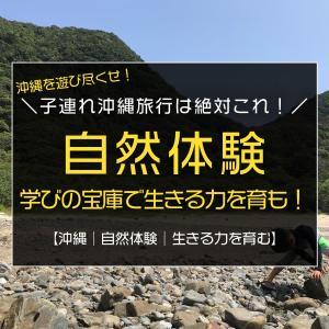 子連れ沖縄旅行なら絶対これ!学びの宝庫!「じんぶん学校」で生きる力を育む自然体験