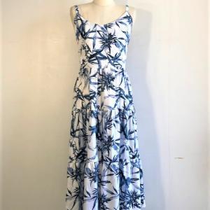レーヨンの柔らかいアロハとドレス