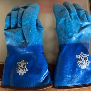 除雪用手袋
