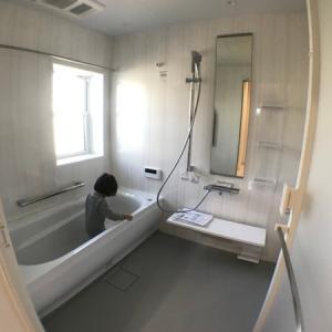 【WEB内覧会6】お風呂(TOTOのサザナ)、浴室換気乾燥暖房機【仕様、写真】