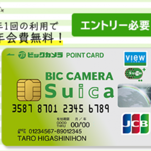 AMEXゴールドはSuicaチャージポイント付与対象外!! ビックカメラSuicaカードに加入がおすすめ。