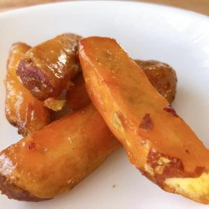 セブンイレブン『カリッと食感 大学いも』半解凍で食べるのがおすすめ!パリパリ食感がたまらない