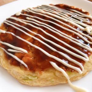 三菱食品『からだシフト お好み焼(豚玉)』低糖質なのに完成度の高いお好み焼