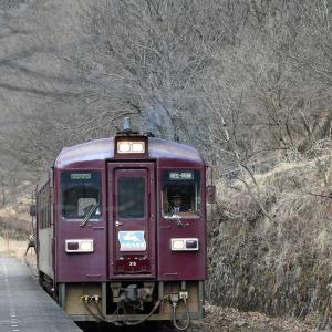 わ鐵終着駅の間藤駅