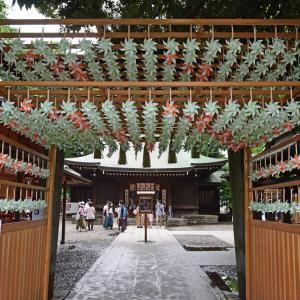 川越氷川神社の風車