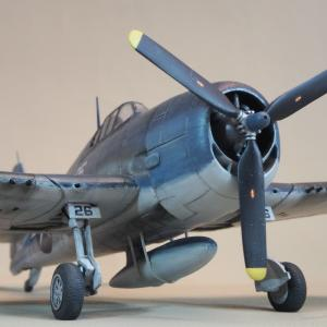 完成画像 F6F-3 ヘルキャット ハセガワ1/72