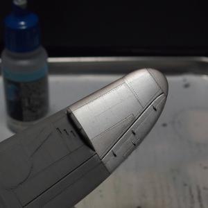 紫電-7「カゲロウお銀を味見する」アオシマ1/72製作記