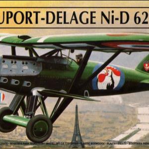 Ni-D622-1「翼よあれが巴里の街だ」ニューポール-ドラジェ エレール1/72 製作記