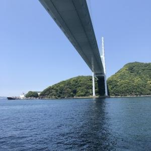 5月11日 女神大橋下 戸町側~神崎鼻
