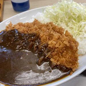 カツカレー専用のカレーソースが美味い!贅沢カツカレー@かつや海老名店