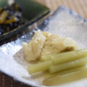 春の旬ふき料理の基本(ふきと油揚げの煮物・キャラブキ佃煮)