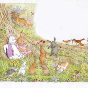 アメリカの #絵本 うさぎのだいじなみつけもの~The Bunny Who Found Easter~ 自然の恩恵を感じながら生きる著者の生き方が詰まった作品