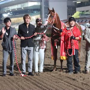 【20/10/07 レース評】ジャスティン 東京盃競走JpnⅡを制しJBCスプリントへ!