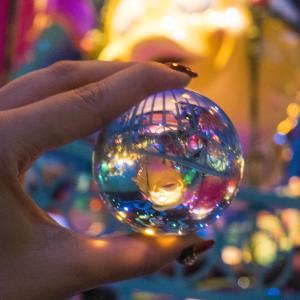 水晶玉・レンズボールを使ってディズニーシーを撮影!