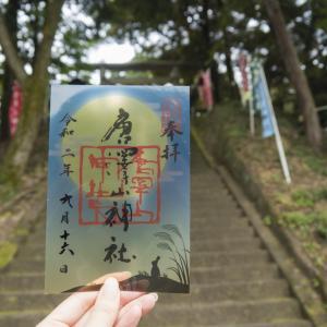 9月の唐沢山神社の御朱印と、猫と戯れてきました!