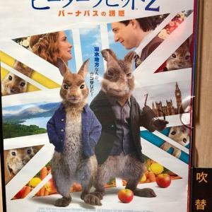 映画ピーターラビット2 バーナバスの誘惑を観た感想