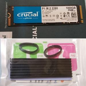 自宅用デスクトップDELL XPS 8910にSSD装着 その2