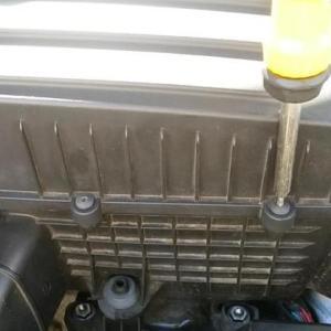 車検前に消耗品の交換とタイヤローテ+天下一品