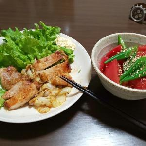 独り身の晩御飯