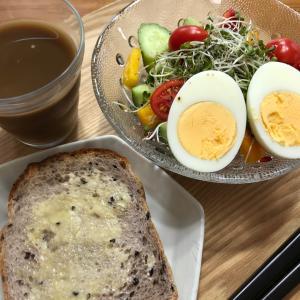 朝ごはんで食べ損ねたものは1日のウチで食べればそれでOK!!